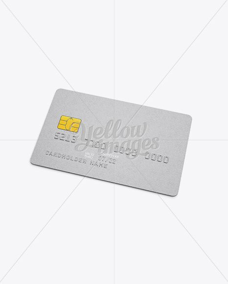 Download Plastic Card Mockup Psd Yellowimages