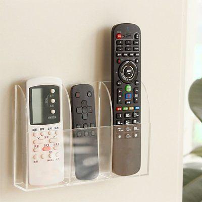5 Compartments Remote Control Holder TV Remote Caddy Desktop Organizer