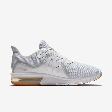 Nike Air Max Sequent 3 Women's Running Shoe 11.5 Platinum