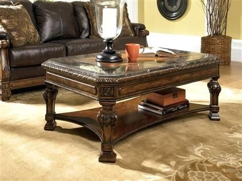 Ashley Glass Coffee Table Set And End Sets Furniture Design Ideas