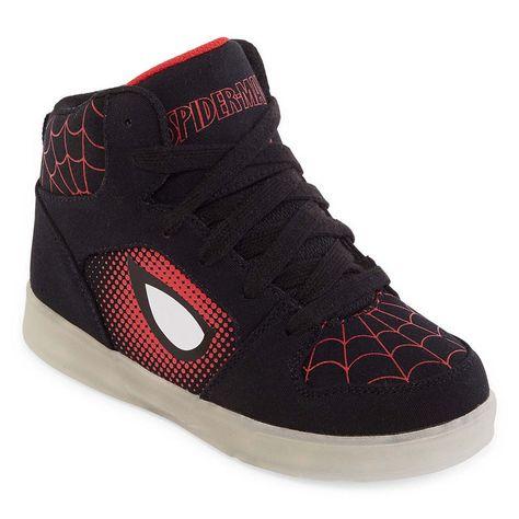 31d606741e74 Spiderman Light-Up Boys Sneakers - Little Kids Big Kids
