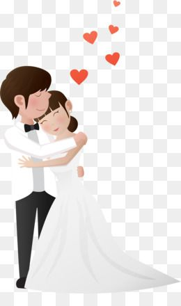 Wedding Couple Png Wedding Couple Transparent Clipart Free Download Wedding Invitation Marriage Clip Art Silhouett Fundo Romantico Cartao De Visita Fotos