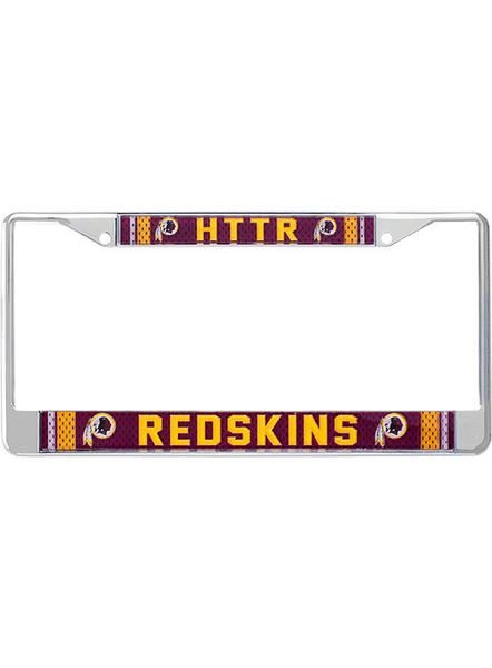 Redskins HTTR License Plate Frame | HAIL YES! | License