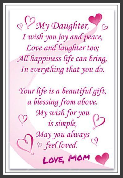 Mother Daughter Quotes And Sayings With Images Happy Birthday