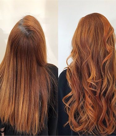 Formula From Faded To Dimensional Red Blonde Hair With