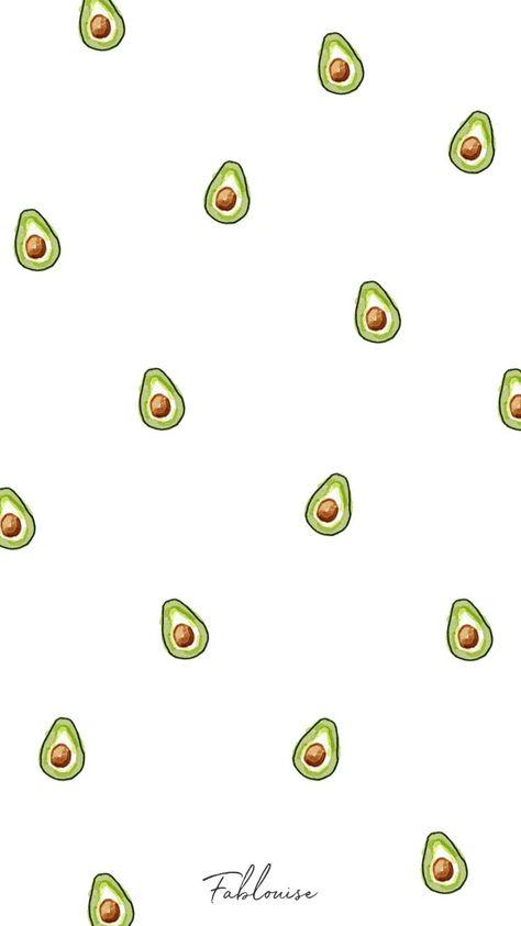 #illustration #fablouisenl #background #wallpaper #avocado #pattern #iphone #printsAvocado Wallpaper Wallpaper Avocado / Wallpaper Avocado /