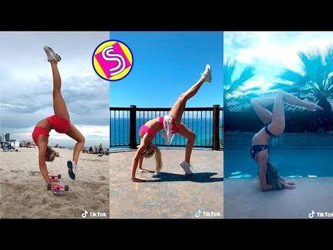 tiktok yoga challenge  hot tiktok 2020