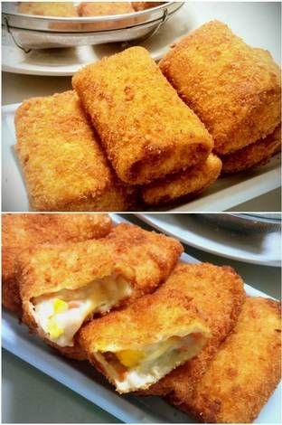Resep Risoles Ragout Ayam Wortel Simple Enak Creamy Step By Step Oleh Tintin Rayner Resep Di 2020 Makanan Kue Lezat Resep