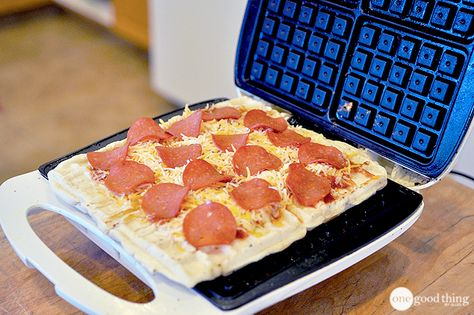 Don't let the name fool you - your waffle iron can make much more than just waffles!