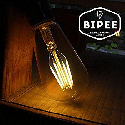 New ST E W Gl hbirne LED Edison Lampe Vintage Retro Stil Filament Birne Ersatz W K warmwei AC V V Nicht dimmbar BIPEE Pinterest