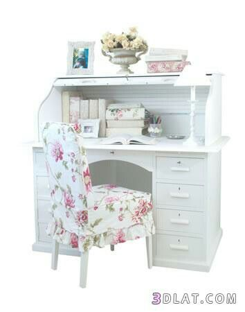 Pin By Rawan Ali On مكاتب للمذاكرة للبنات Girl Bedroom Designs Chic Shack Kid Desk