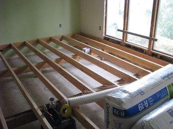 raised sunken living room