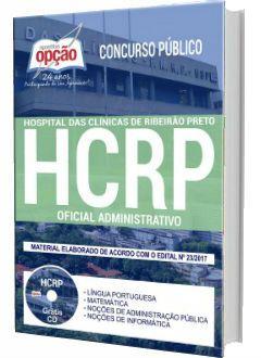 Apostila Concurso Hcrp 2018 Oficial Administrativo Opcao