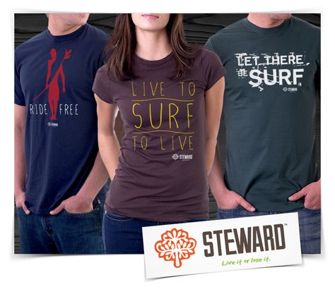 Live to surf to live - Steward