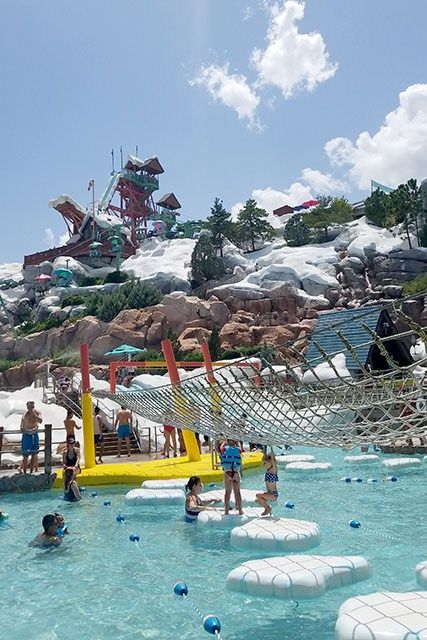 A Fun Summer Day At Disney S Blizzard Beach Water Park With