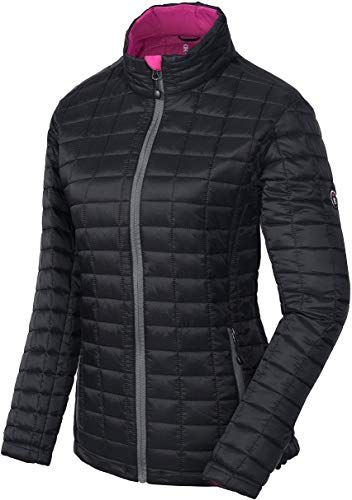 Buy Little Donkey Andy Women S Puffer Jacket Quilted Insulated Hiking Jacket Post Consumer Synthetic Insulation Online In 2020 Quilted Puffer Jacket Insulated Jackets