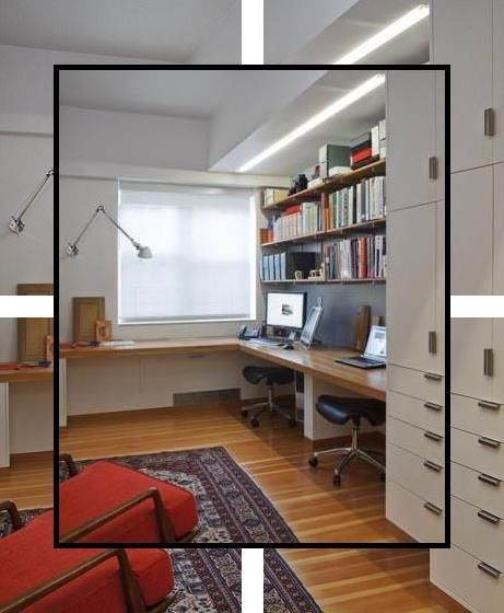 Home Office Design Ideas Work Office Ideas Design My Office Office Layout Ideas Home Office Arrangement Cool Office Decor In 2020 Home Office Shelves Home Office Cabinets Home Office Table
