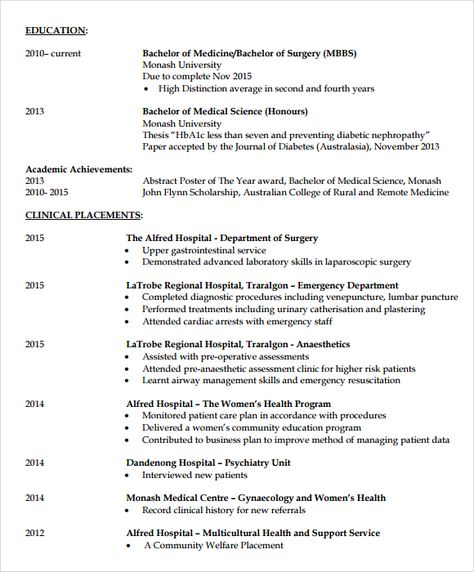Doctor Resume Template pdf Tanweer Ahmed Pinterest - clerk resume