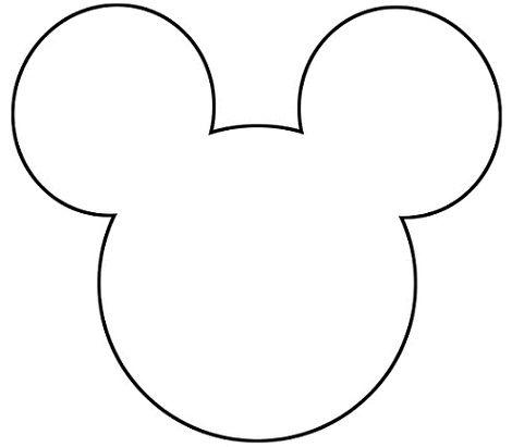 Moldes para hacer orejas de Mickey Mouse  Imagui