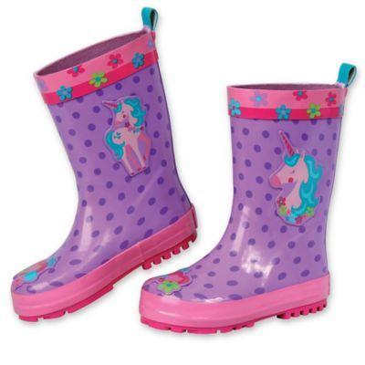 Stephen Joseph Size 6 Unicorn Rain Boot