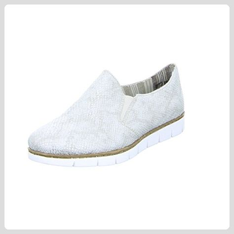 Slipper Für Damen Designer Schuhe Rieker Mit Gummizug Ein