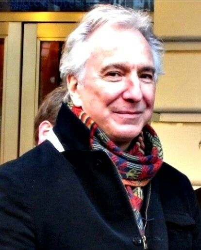 Alan His Smile And His Scarf With Images Alan Rickman