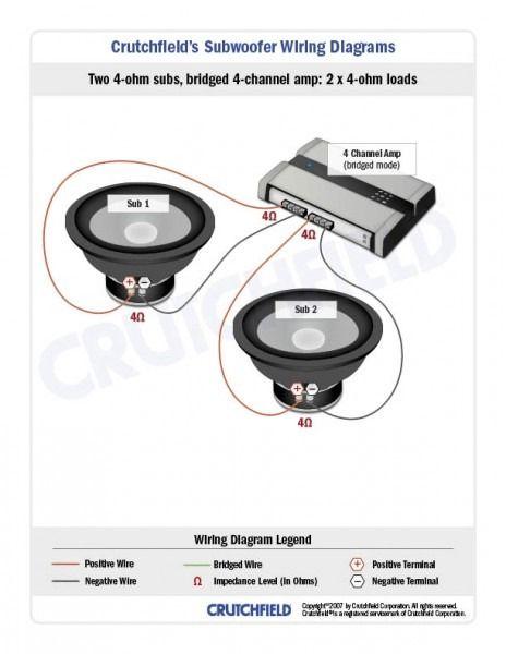 Crutchfield Subwoofer Wiring Diagram Subwoofer Wiring Subwoofer Truck Audio System