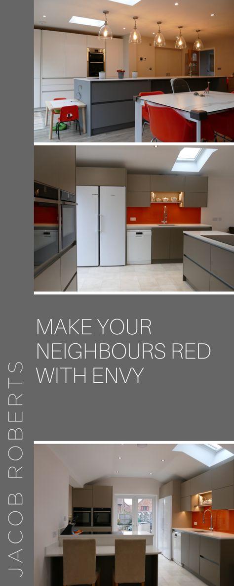 Kitchen Kitchen Design Red Red Kitchen Kitchen Project Modern