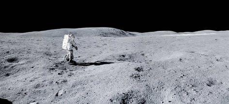 """/""""The Astronauts of Apollo/"""" Mark Karvon 24/"""" Giclee Print"""