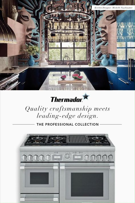 Give your kitchen an instant upgrade with the Professional Collection from Thermador.