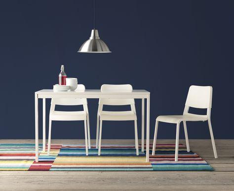 Ikea Stoel Wit : Vangsta uitschuifbare tafel wit ikea catalogus home