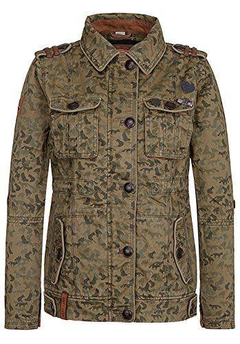 military jacke damen naketano