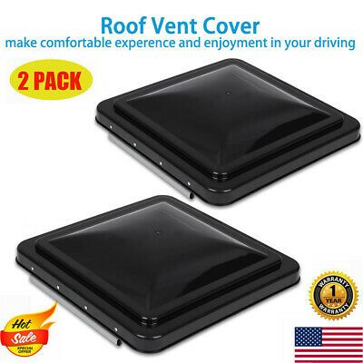 Sponsored Ebay 2pack 14 X 14 Replacement Roof Vent Cover Camper Rv Trailer Black Ventline In 2020 With Images Roof Vent Covers Camper Parts Vent Covers