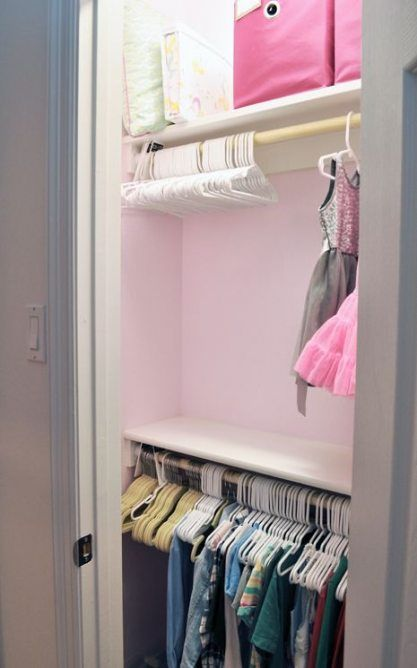 54 Super Ideas For Girls Closet Organization Posts Organization Closet Etagere Billy Etagere Chambre