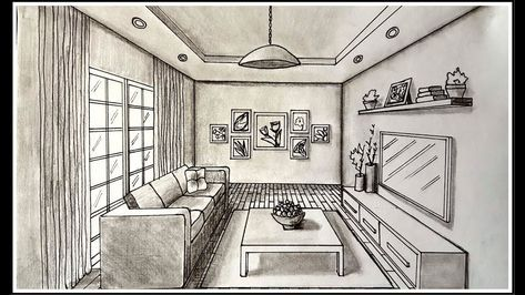 New Design Interior Sketch Perspective Living Rooms Ideas In 2020