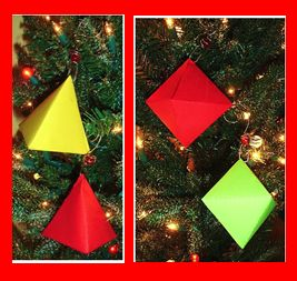 Make 3D Ornaments in Math Class from Learning Ideas - Grades K-8
