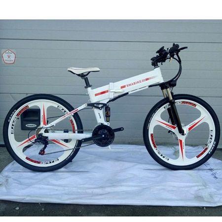 Bicycle 48 V 350 W 21 Speed Electric Bike Mountain Hybrid Electric Watertight Frame Inside Li O 7 8 Ah Battery Folding E Bike Bicycle Electric Bike Bike
