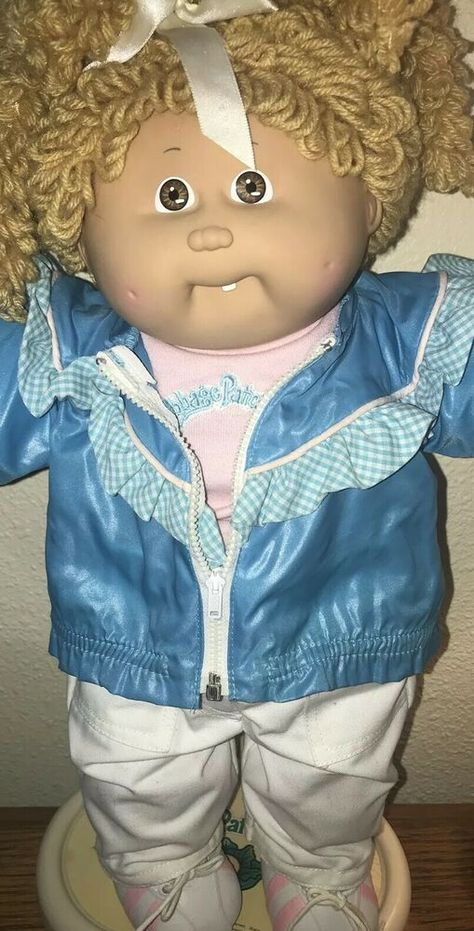 1986 Cabbage Patch Gold Popcorn #CabbagePatchKids