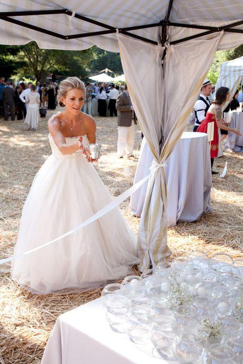 upscale wedding beer pong