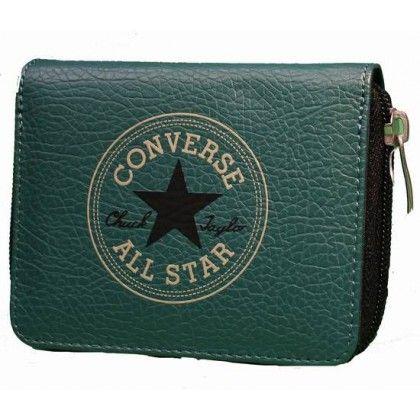 Converse Geldbörse Retro Wallet Zip Regular Medium Green