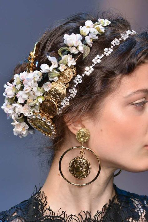 Hair Accessories Jewelry Dolce and Gabbana