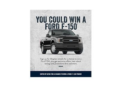 Sheplers Ford Truck Sweepstakes Ends Sept 30th With Images Sweepstakes Ford Truck Ford