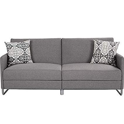 Amazon Com Giantex Futon Sofa Bed With Backrest Armrest