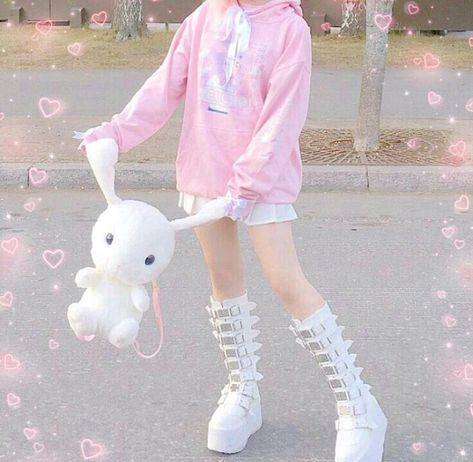 Pastel Fashion, K Fashion, Lolita Fashion, Cute Fashion, Korean Fashion, Fashion Outfits, Gyaru Fashion, Fashion Videos, School Fashion