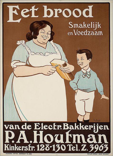 Eet brood van de Electr. Bakkerijen P.A. Houtman