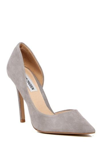 ce2450f0554 Steve Madden | Felicity Suede d'Orsay Pump | Glamazons | Pumps ...