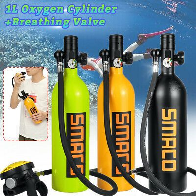 Food-grade Silicone Scuba Diving Mouthpiece Dive Regulator Cylinder Breathing
