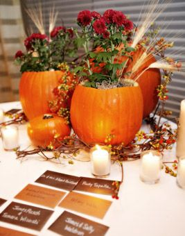 17 Best Fall Decor Images On Pinterest | Flowers, Marriage And Centerpiece  Ideas