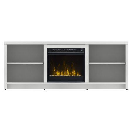 Home In 2019 White Tv Stands Electric Fireplace Tv Stand