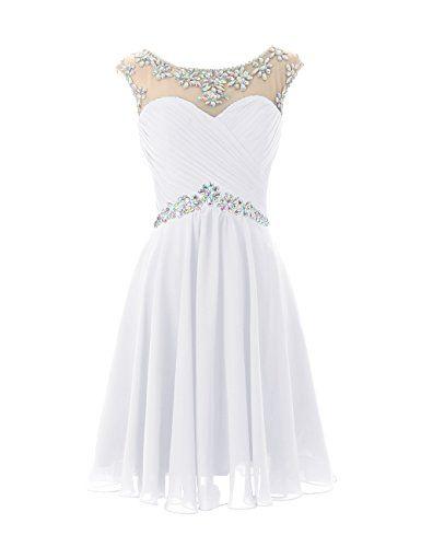 Dresstells® Short Prom Dresses Sexy Homecoming Dress for Juniors Birthday Dress White Size 2 Dresstells http://www.amazon.com/dp/B00MFDXEYY/ref=cm_sw_r_pi_dp_bHckvb084QAVN